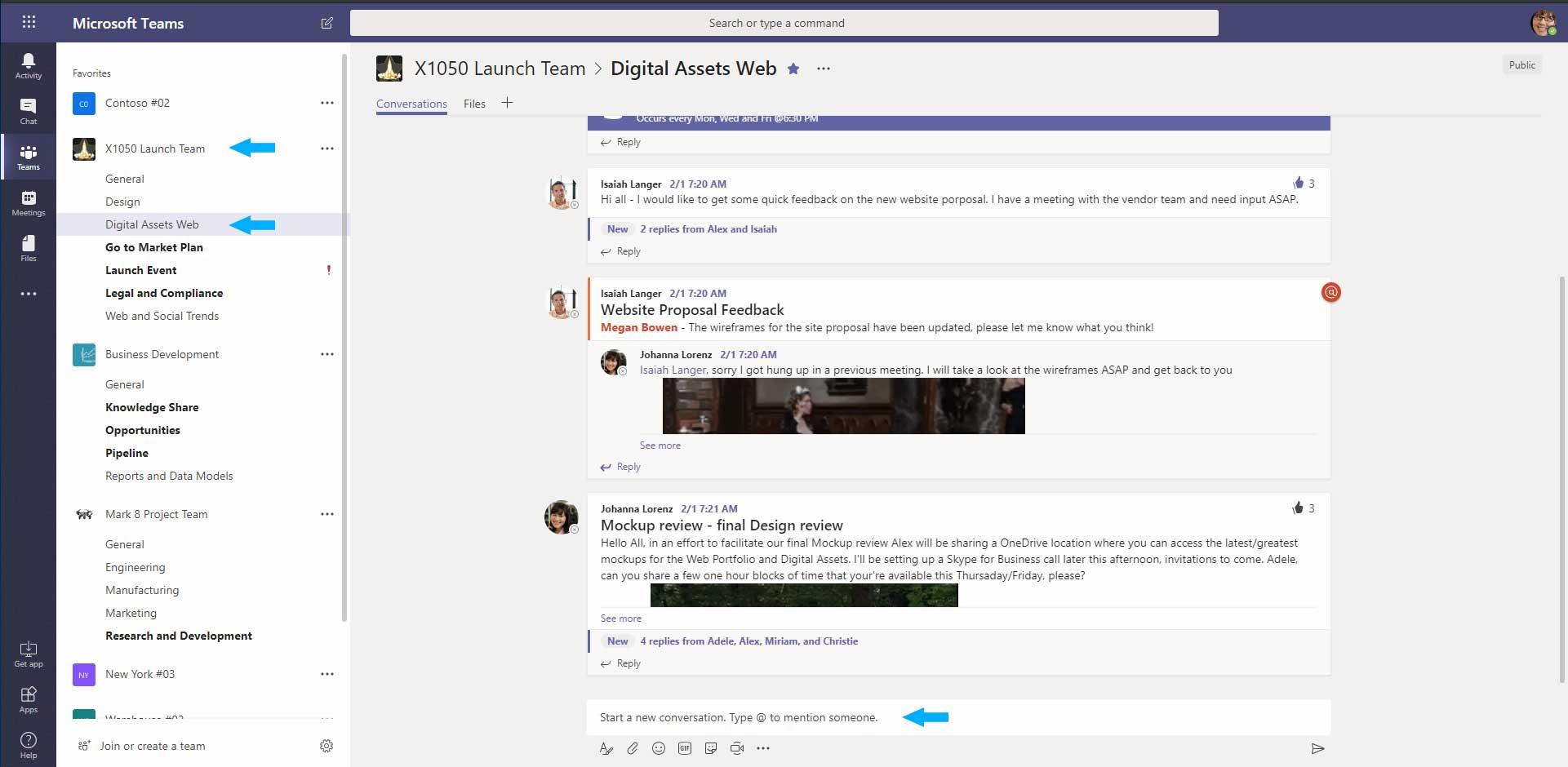 Microsoft Teams Chat in Teams Pepas Cloud