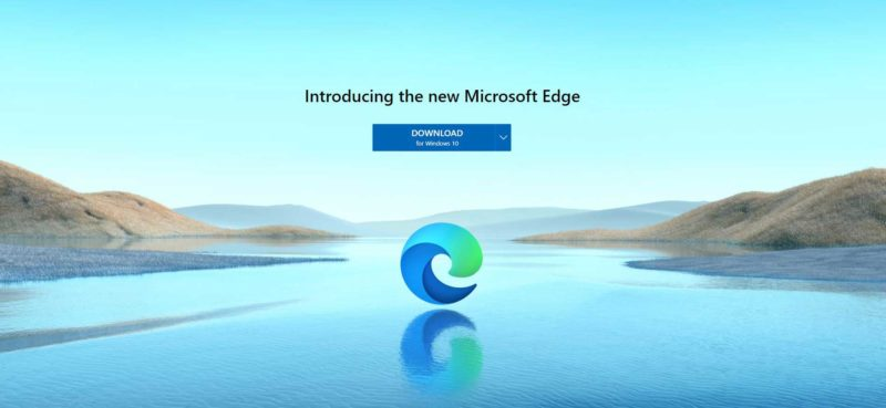 Release of Microsoft Edge Chromium Pepas Cloud