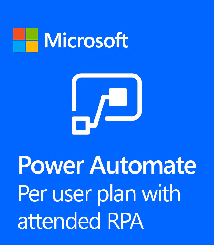 Pepas Cloud Power Automate per user plan with attended RPA